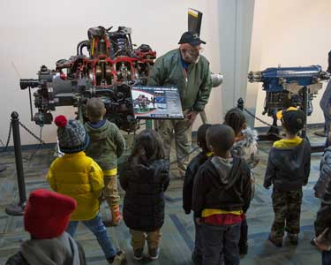 Military Aviation Museum - Mile High Kids HEad Start Tour  -  3/23/18