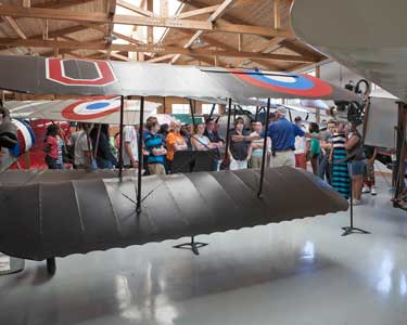 Military Aviation Museum - Jolliff Middle School Group Tourr  -  6/6/14