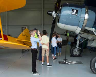 Military Aviation Museum - High School Tour   -  5/18/18