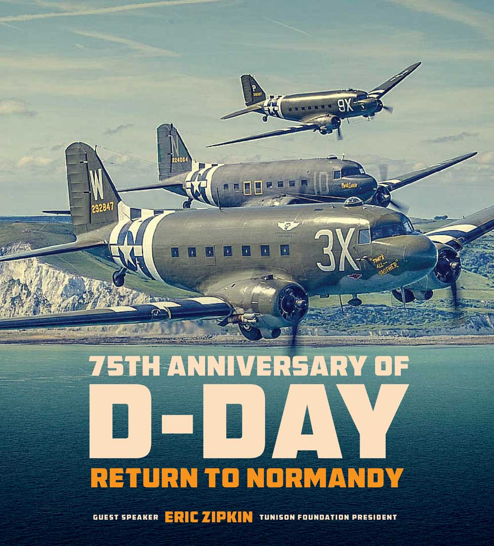 75th Anniversary of D-Day - Return to Normandy