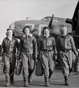 The Women with Silver Wings
