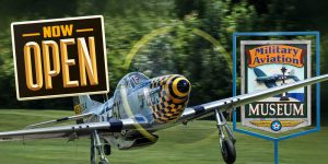 The Military Aviation Museum is now open!